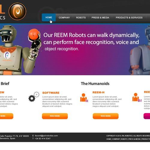 Design finalista por Webnomica