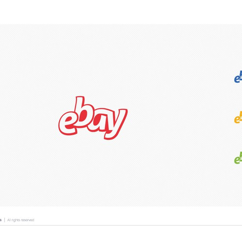 99designs community challenge: re-design eBay's lame new logo! Diseño de ludibes