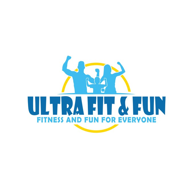 get creative ultra fit fun needs a family friendly logo logo