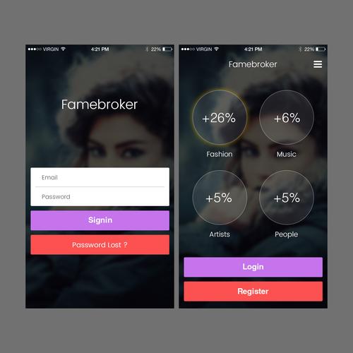 Diseño finalista de Web Dev