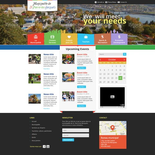 Diseño finalista de Web Gateway