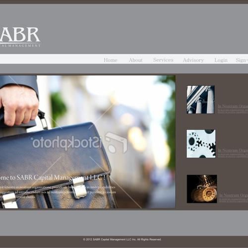 Diseño finalista de Platinum web.