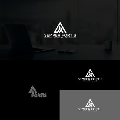 Land The Brand Design Our Logo For Semper Fortis Financial Llc