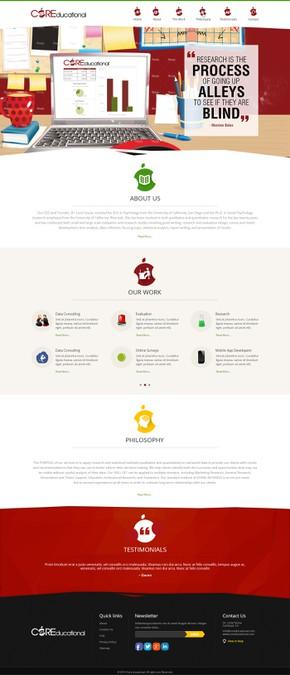 Diseño ganador de Gowebbaby.com