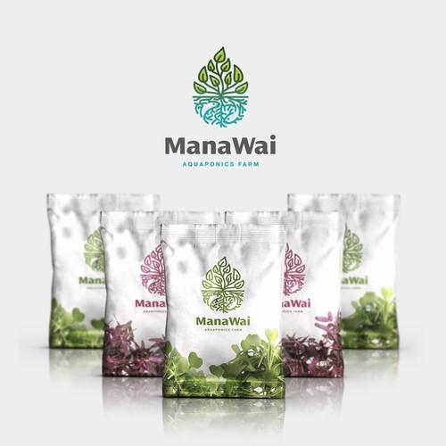 Hawaiian aquaponics company - design a modern logo Design by Ševarika™