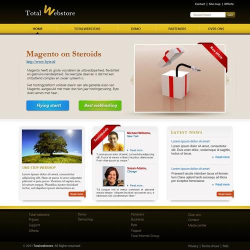 Runner-up design by Fenrir Media