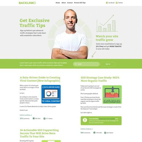 Diseño finalista de Zen Web Creative