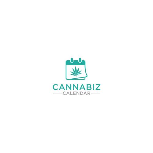 cannabiz calendar ロゴデザインコンペ