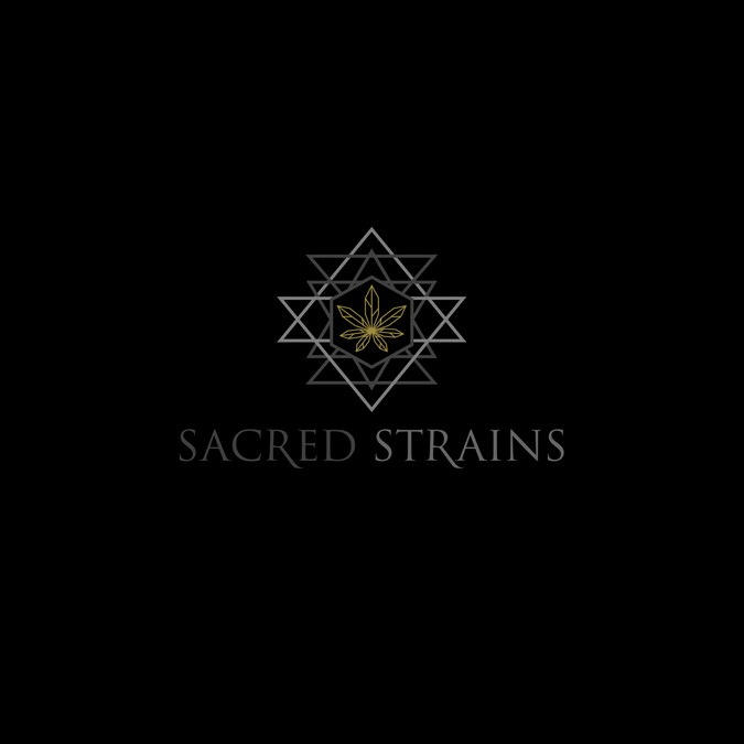 Create a sacred geometry logo for a Cannabis Nursery  | Logo