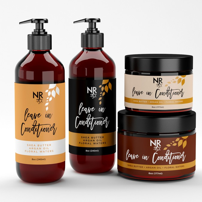 Natural cosmetics company Rebranding - first of more