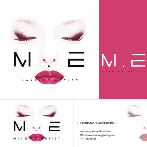 Design A Logo For A Make Up Artist Contest Di Loghi Biglietti Da