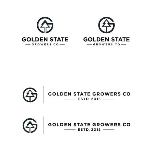 Create a stylish iconic logo for California Cannabis co Design by ann@