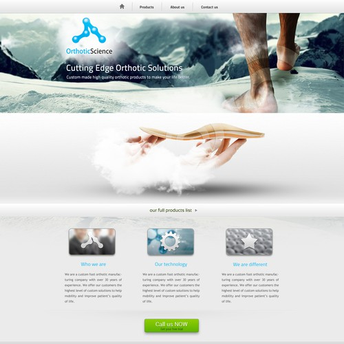 Runner-up design by BIALY