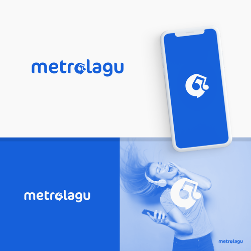 Design a logo for metrolagu.online | Logo design contest | 99designs