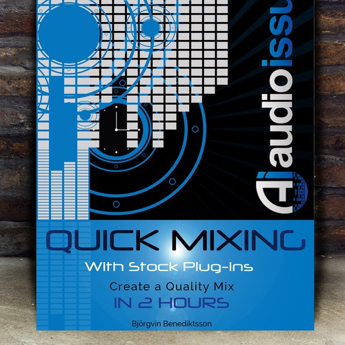 Create a Music Mixing Poster for an Audio Tutorial Series Design by MariposaM&D