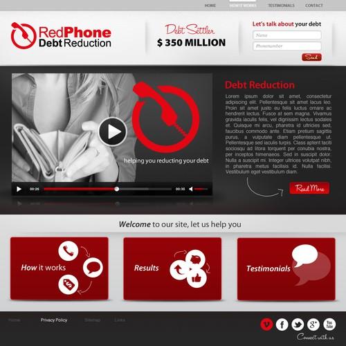 Runner-up design by Twebdesign