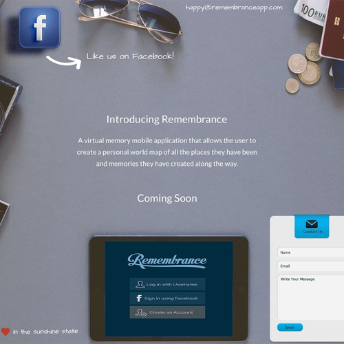 iphone APP  landing page Design by WvanW