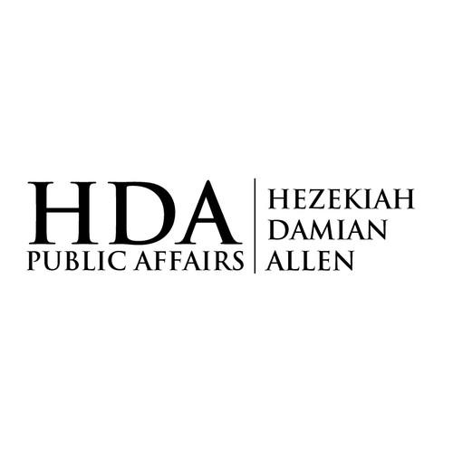 Hda public affairs logo brand identity pack contest for Hda design