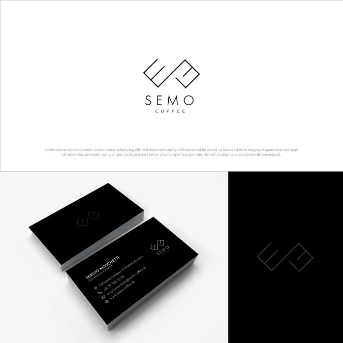 Semo Coffee Needs Unique Logo Design Logo Und