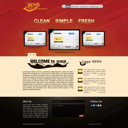 Meilleur design de WebbyShoe