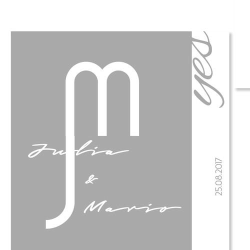 Runner-up design by M. m.