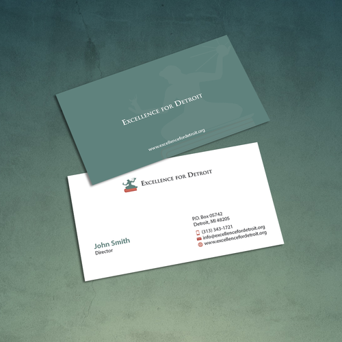 Looking for new business cards for educational nonprofit in detroit runner up design by an designer colourmoves