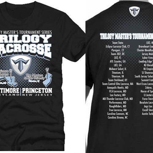 09c740c81 Trilogy Master's Tournament Series T-Shirt | T-shirt contest