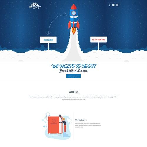 Runner-up design by Preetsini