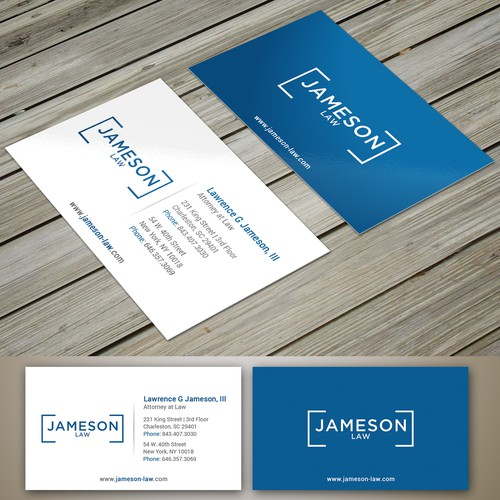 law firm business card business card contest