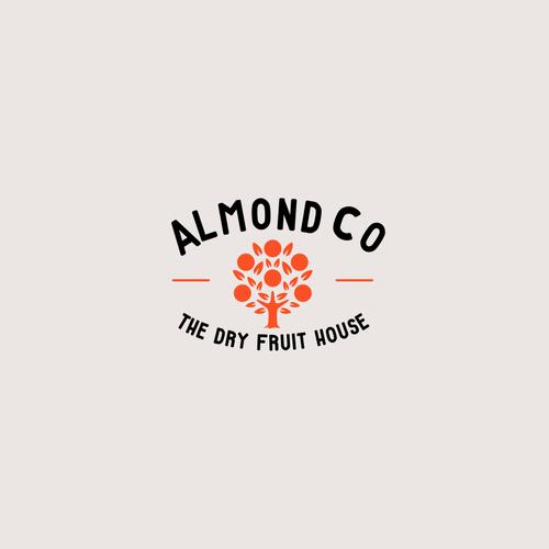 Almonds & Dry Fruit Shop Branding | Logo design contest