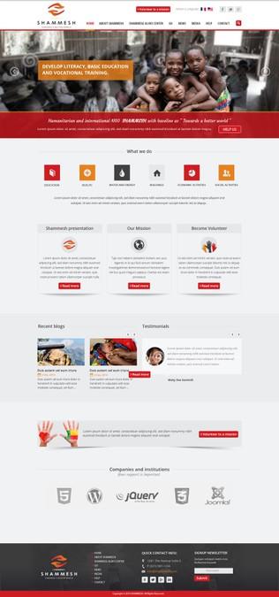 Winning design by AmazingWeb