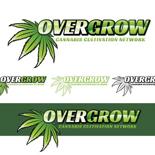 Design timeless logo for Overgrow.com Design by JNCri8ve