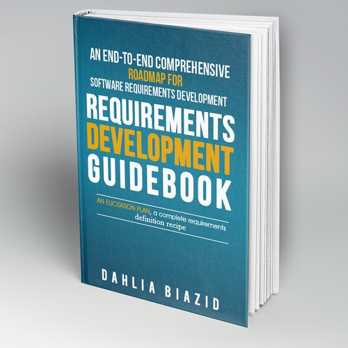Book Cover Design Requirements : Create ebook cover for software requirements guidebook