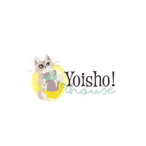 Cute, classy but playful cat logo for online toy & gift shop Design by ross!e