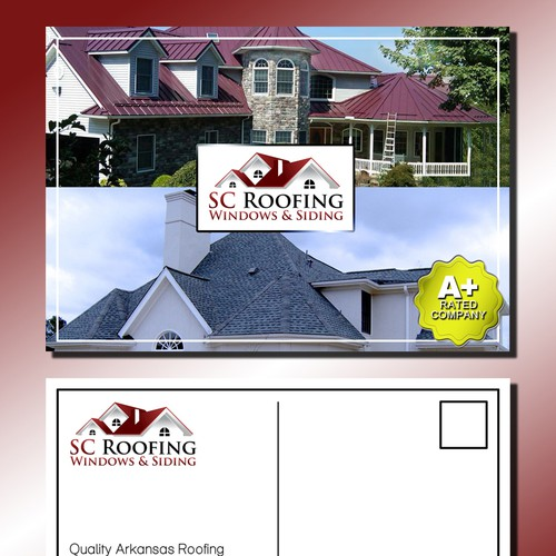 Help Sc Roofing Windows Amp Siding With A New Postcard Or