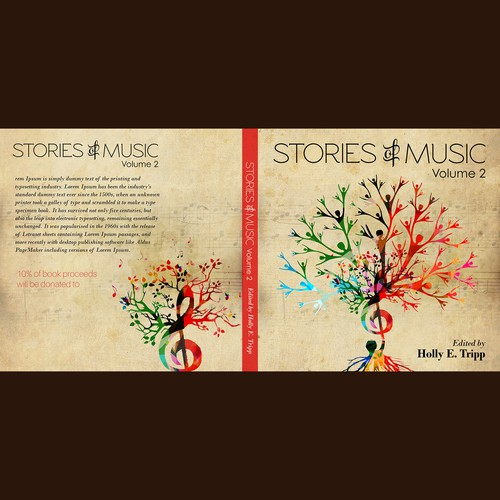 Music Book Cover Ideas : Stories of music volume book cover contest