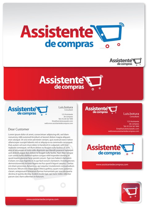 e74c26af5b6 The ultimate shopping experience in retail industry! Create the visual  identity for Assistente de compras