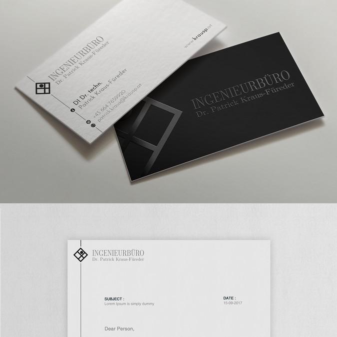 Design vencedor por upwork