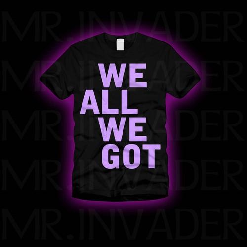 Runner-up design by Mr. Invader