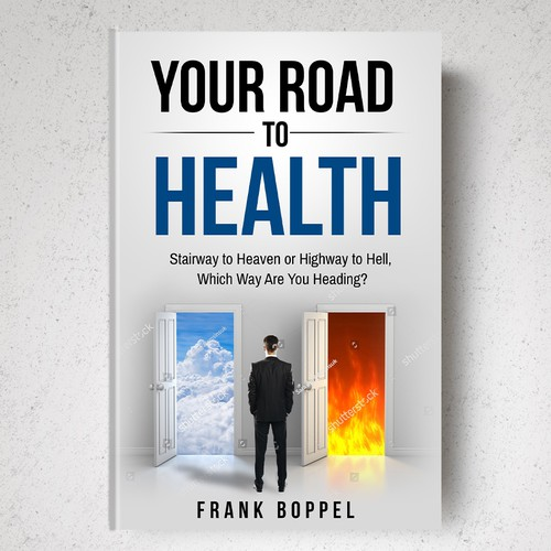 Health Book Cover Design ~ Health book cover stairway to heaven or highway hell