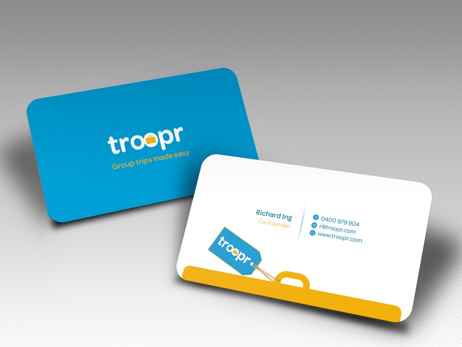 Wanted: Smart, clever business card for travel startup | Business ...