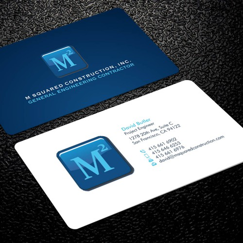 Business card design for underground construction company runner up design by xclusive16 colourmoves