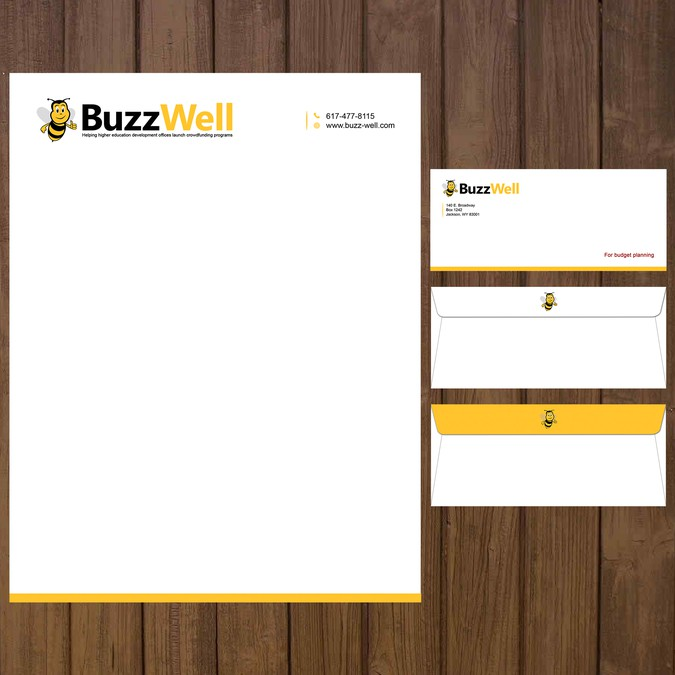 Creative Letterhead And Envelope Stationery Contest