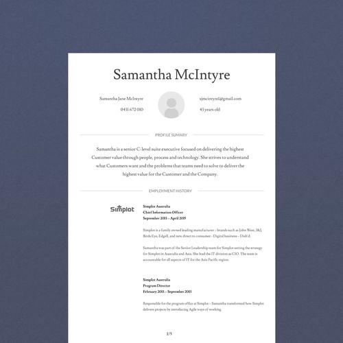 Design finalisti di Belevere Inc.