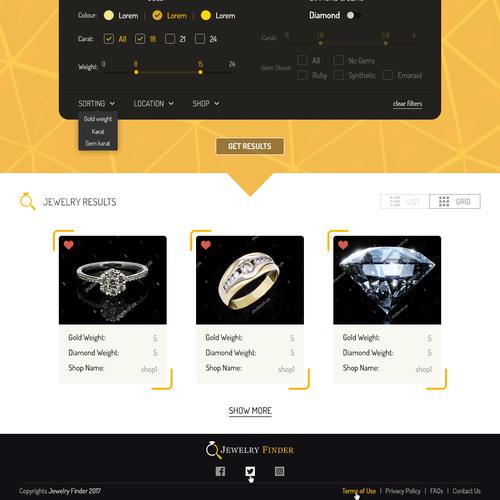 Runner-up design by Tive Webs