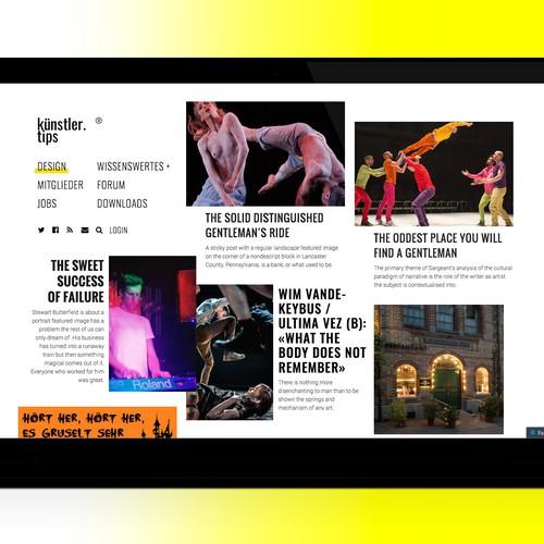 Design finalista por LEIF–VisualDesign