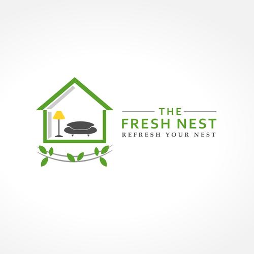 Create A Cool Logo For A New Home Interior Design Company The Fresh Nest Logo Design Contest 99designs