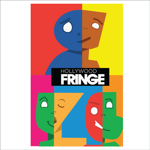 Guide Cover for the 2018 Hollywood Fringe Festival Design by VeraMurog