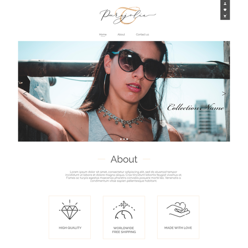 Runner-up design by Volody