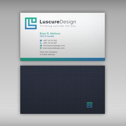 Runner-up design by upwork